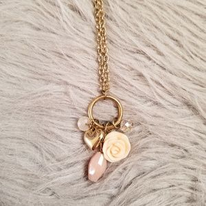 Girly Clustered necklace